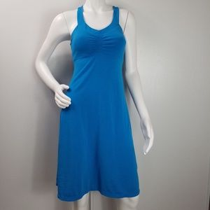 Prana Dress Sz S Built in Bra Stretch Racerback